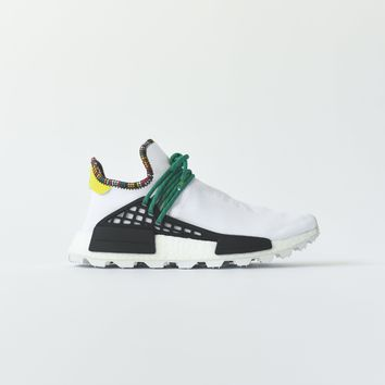 ADIDAS ORIGINALS X PHARRELL WILLIAMS SOLAR HU NMD WHITE / GREEN