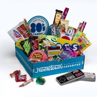 Hometown Favorites 1980`s Nostalgic Candy Gift Box, Retro 80`s Candy, 3-Pound: Grocery & Gourmet Food