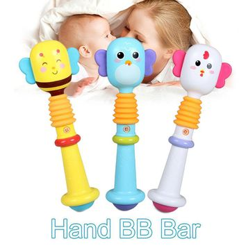Newborn Babies Rattle Teether Toys