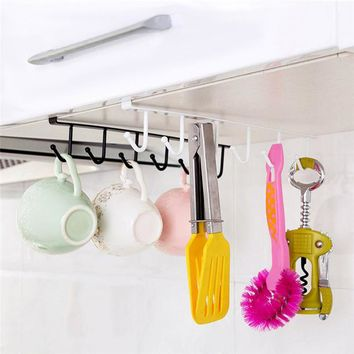 Tenske decorative wall shelf 2017 Kitchen Cupboard Storage Rack Hanging Hook Chest Storage Organizer Holder*30 GIFT