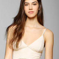 Pins And Needles Longline Triangle Bra - Urban Outfitters