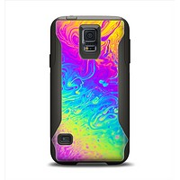 The Neon Color Fushion V2 Samsung Galaxy S5 Otterbox Commuter Case Skin Set