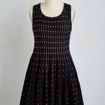Mid-length Sleeveless A-line Satisfying Style Dress