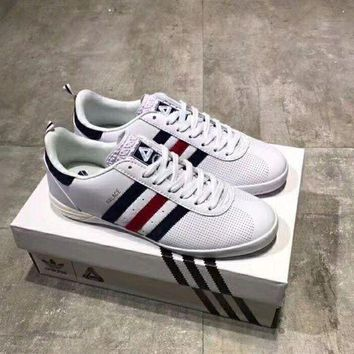 DCCKLM3 Adidas Palace Indoor leather punching casual shoes!