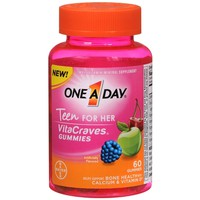 One A Day VitaCraves Teen Vitamins For Her Gummies Assorted | Walgreens