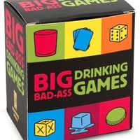 Big Bad-Ass Drinking Games Mega Kit  - NEW! Party Time