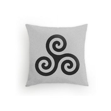 Teen Wolf Throw Pillow Derek Hale Triskelion 16x16