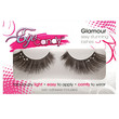 Eye Candy Crystal Palace Dramatic Winged Lashes W-crystal Accents - Black