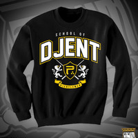 PER SCHOOL OF DJENT CREW NECK