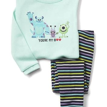babyGap | Disney Baby Monster's Inc. Boo sleep set | Gap