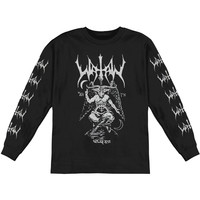 Watain Men's  Baphomet  Long Sleeve Black