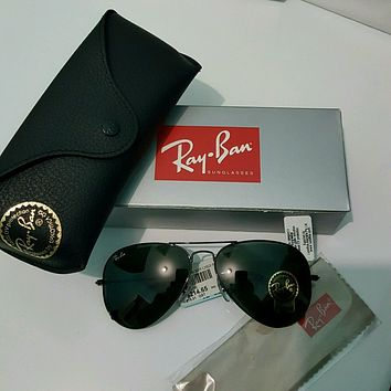 Authentic New Ray-Ban 3025 Aviator/Pilot 58 14 Men Woman sunglasses w case cloth