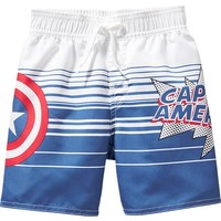 Old Navy Marvel Comics Captain America Swim Trunks For Baby