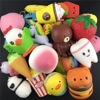 Squshies Slow Rising Squishy Toy Corn Shape Relieves Stress Toys for Children Adults Anxiety Attention squeeze toys