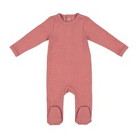 Lil Leggs Unisex-Baby Rose Ribbed Stretchie