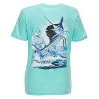 Academy - Guy Harvey Women's Sailfish Boat T-shirt