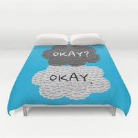 Okay? Okay. The Fault in Our Stars Duvet Cover by Anthony Londer | Society6