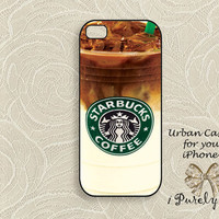 Star Bucks Iced-Coffee - iPhone 5 Case, iPhone case, iPhone 5s Case, iPhone 5 Cover, Hard iPhone 5s Case