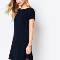 Closet Mini Shift Dress in Crepe at asos.com