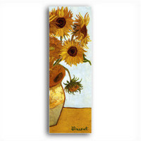 Stretched Canvas Handmade Sunflowers,c.1888 Painting by Vincent Van Gogh 0192-YCF103170 - $44.48