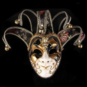 Phantom of the Opera Clown Bell Venetian Masquerade Masks Big Event Show Ball Costume Home Decoration Masks