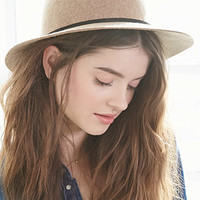 Small-Brim Wool Fedora
