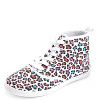 Canvas Lace-Up Hi-Top Sneaker