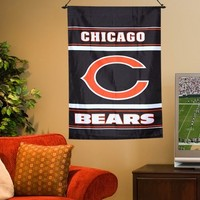Chicago Bears 28'' x 40'' Double-Sided House Flag
