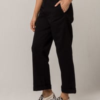 DICKIES Roll Cuff Womens Crop Pants