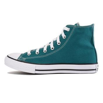 MDIGH3W Converse for Kids: Chuck Taylor All Star Hi Rebel Teal Sneaker