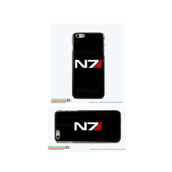 Mass Effect N7 , Custom Phone Case for iPhone 4/4s, 5/5s, 6/6s+ and iPod Touch 5