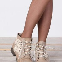 A Walk in Lace Crochet Boots - $45.00 : ThreadSence.com, Your Spot For Indie Clothing & Indie Urban Culture