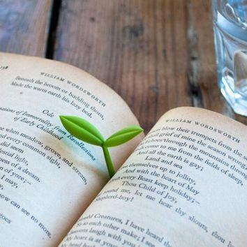 Sprout Little Green Bookmarks Gift- 2 Pcs