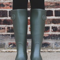 Puddle Jumpin' Boot - Matte Olive