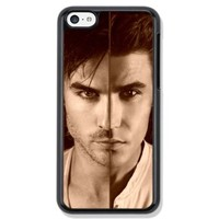 Paul Wesley and Ian Joseph Somerhalder Design Hard Case Cover Skin for iphone 6 iPhone 6plus iPhone 5/5S iPhone 4/4S, iPhone 5C (Case for iPhone 6 Black Hard)