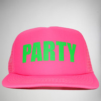 'Party' Trucker Hat