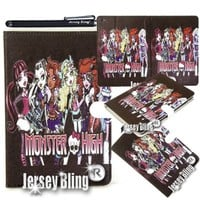 Monster High iPad 2 3 or 3 Gift Set (includes stylus & Monster High gift item) (iPad 2 3 or 4, Monster High)