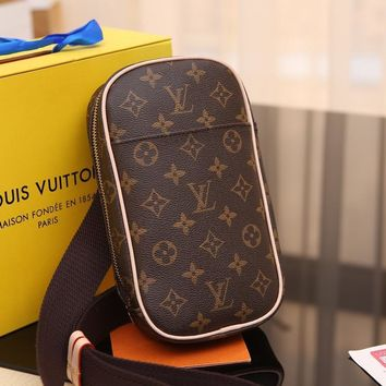 DCCK Lv Louis Vuitton Fashion Women Men Gb29610 Chest Packs Of M51870 Geronimos Were 13*23*5cm