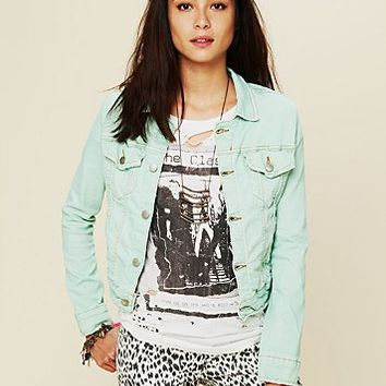 Free People Traveler Denim Jacket