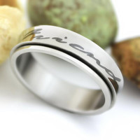Friend Ring Spinner Ring Forever Friends Purity Unisex Ring Best Promise Gift