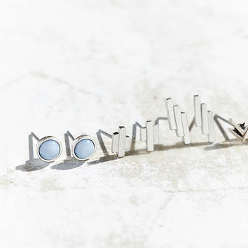 Silver Springs Post Earring Pack - Urban Outfitters