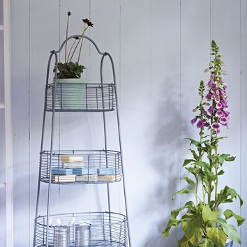 Wirework Tiered Storage Baskets