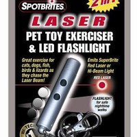 Ethical Pet Laser Light Cat Toy & LED Flashlight Exerciser