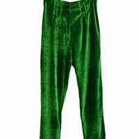 Beauvoir velvet pants