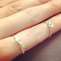 Eye Ring adorable cute pretty lovely Everyday jewelry. by IMSMI