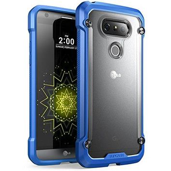LG G5 Case, SUPCASE Unicorn Beetle Series Premium Hybrid Protective Clear Case for LG G5 2016 Release, Retail Package (Frost/Blue)