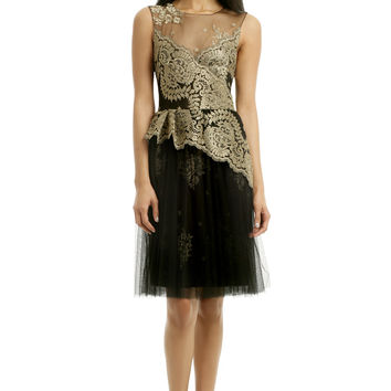 Marchesa Notte Laurel Dress