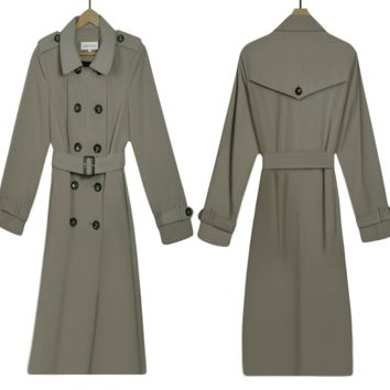 Women's Coat- Trench Coat- Winter Coat- Raincoat- Long Coat- PeaCoat- Overcoat- Calvin Klein