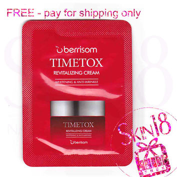Freebies - Berrisom Timetox Revitalizing Cream (Sample Pack)