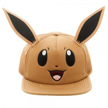 Pokémon Eevee Hat w/Ears